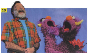 Robin Williams & Two-Headed Monster