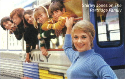 Shirley Jones on 'The Partridge Family'