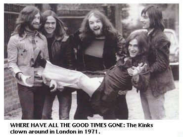 The Kinks in 1971
