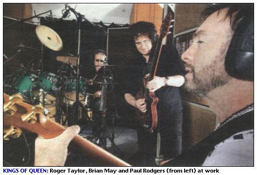 Roger Taylor, Brian May & Paul Rodgers
