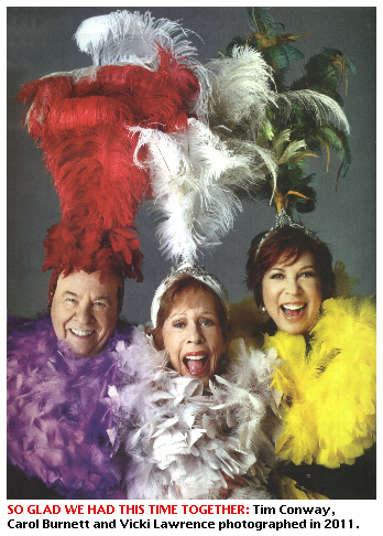 Curtains Ideas carol burnett curtain rod : EXTRA! 1/12 - A 'Carol Burnett Show' Reunion / Steven Tyler Memoir