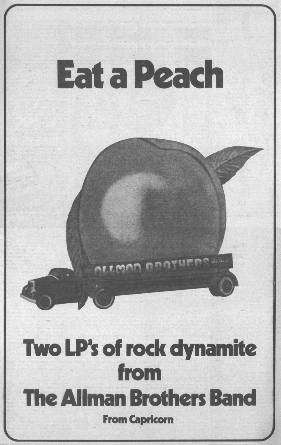 The Allman Brothers Band Eat A Peach
