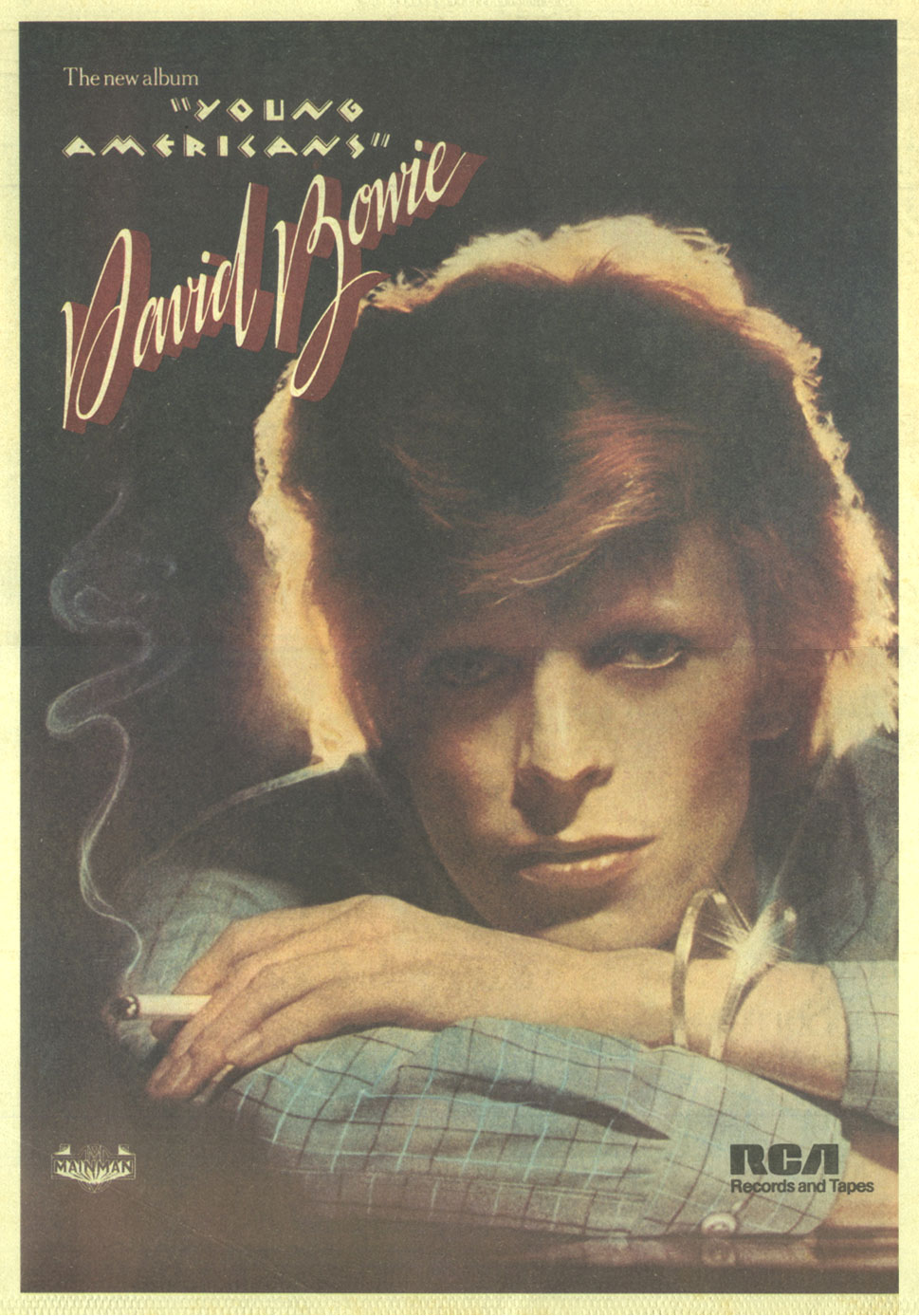 David Bowie - Young Americans  David Bowie Young Americans Tour