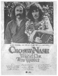 David Crosby and Graham Nash - Wind On The Water