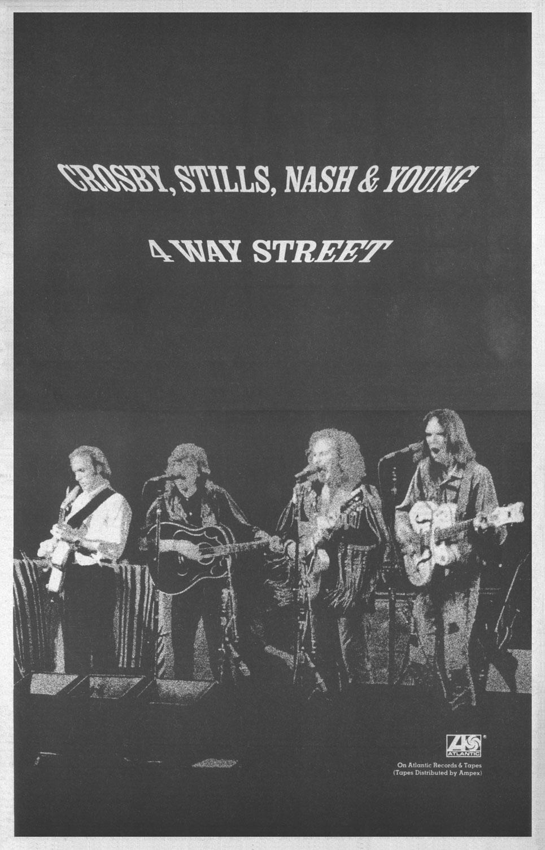 Crosby Stills Nash Amp Young 4 Way Street