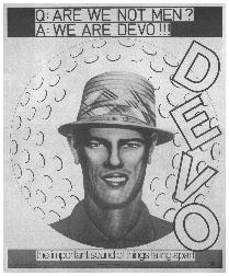 Devo - Q Are We Not Men? A We Are Devo!