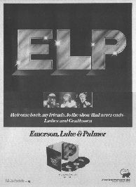Emerson, Lake and Palmer - Welcome Back, My Friends...