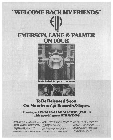 Emerson, Lake and Palmer - Brain Salad Surgery