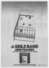 J. Geils Band - Nightmares...And Other Tales From The Vinyl Jungle
