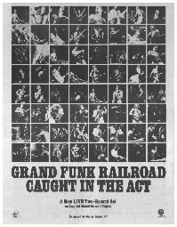 Grand Funk - Caught In The Act