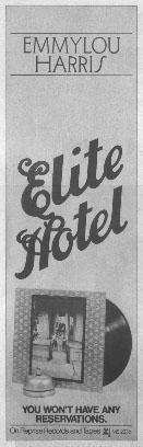 Emmylou Harris - Elite Hotel