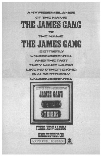 The James Gang - Thirds