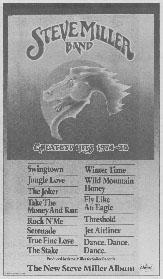 Steve Miller Band - Greatest Hits 1974-78