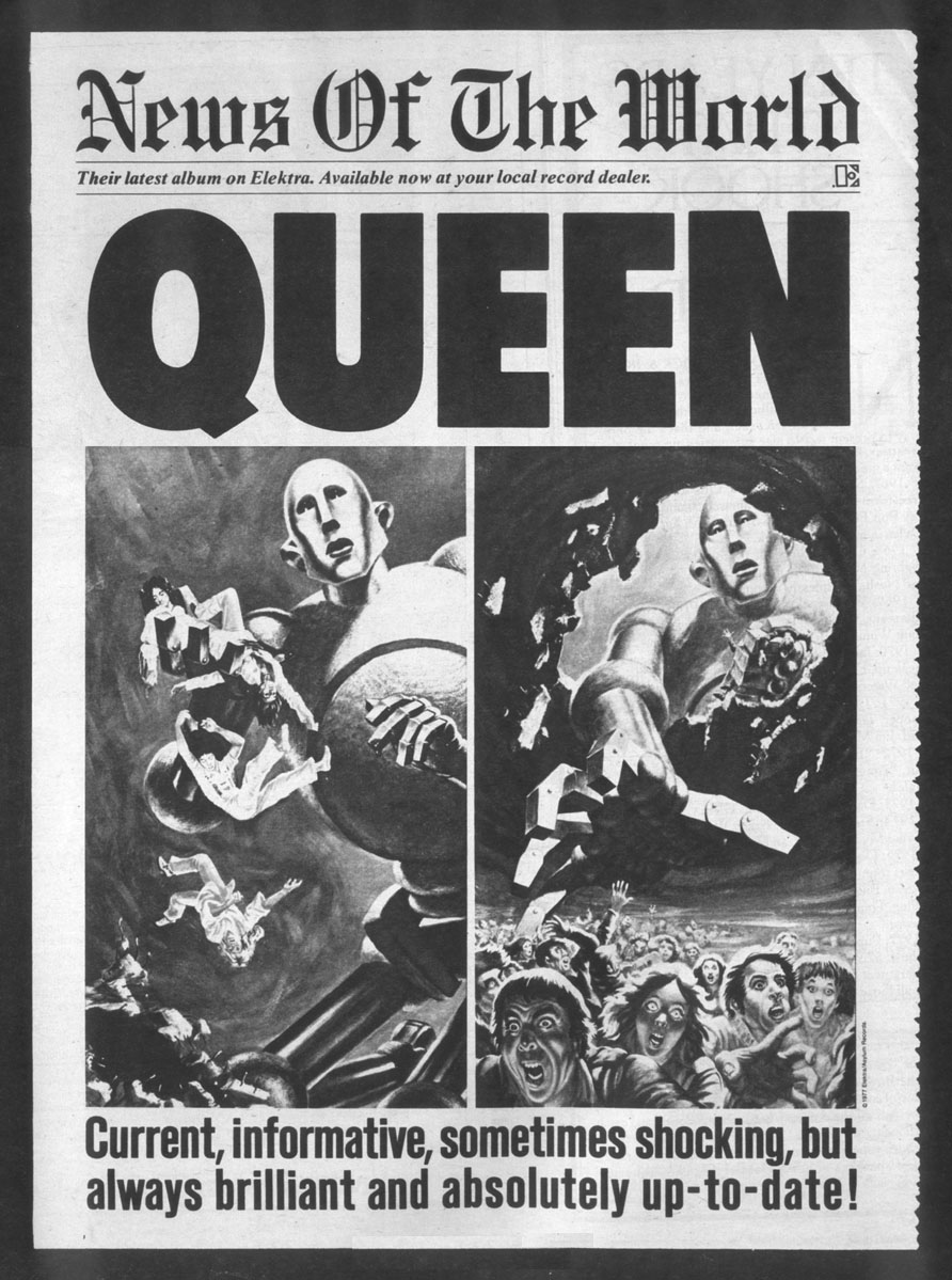 Queen - News Of The World Queen News Of The World Cover Art