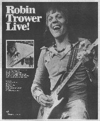 Robin Trower - Live!