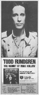 Todd Rundgren - Hermit of Mink Hollow