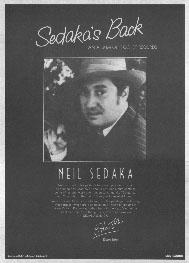 Neil Sedaka - Sedaka's Back