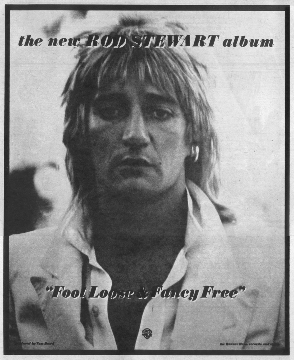 rod stewart foot loose  fancy free
