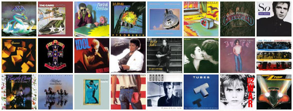 Secret '80s album covers